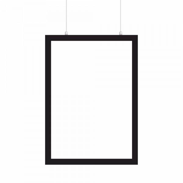 Magnetischer LED Rahmen Einseitig