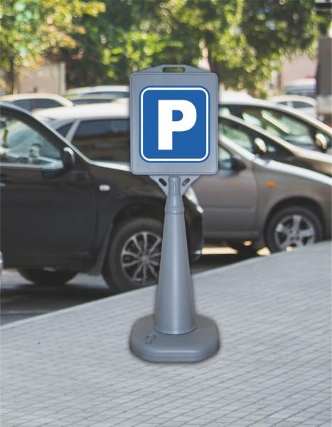 Verkehrsschild - Parkschild
