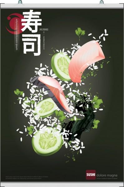 Poster Klemmleiste